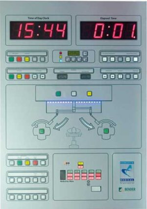 FM-Paneler til brug i medicinske områder fra Bender i kategorien Alarmsystemer leveres af fournais bender