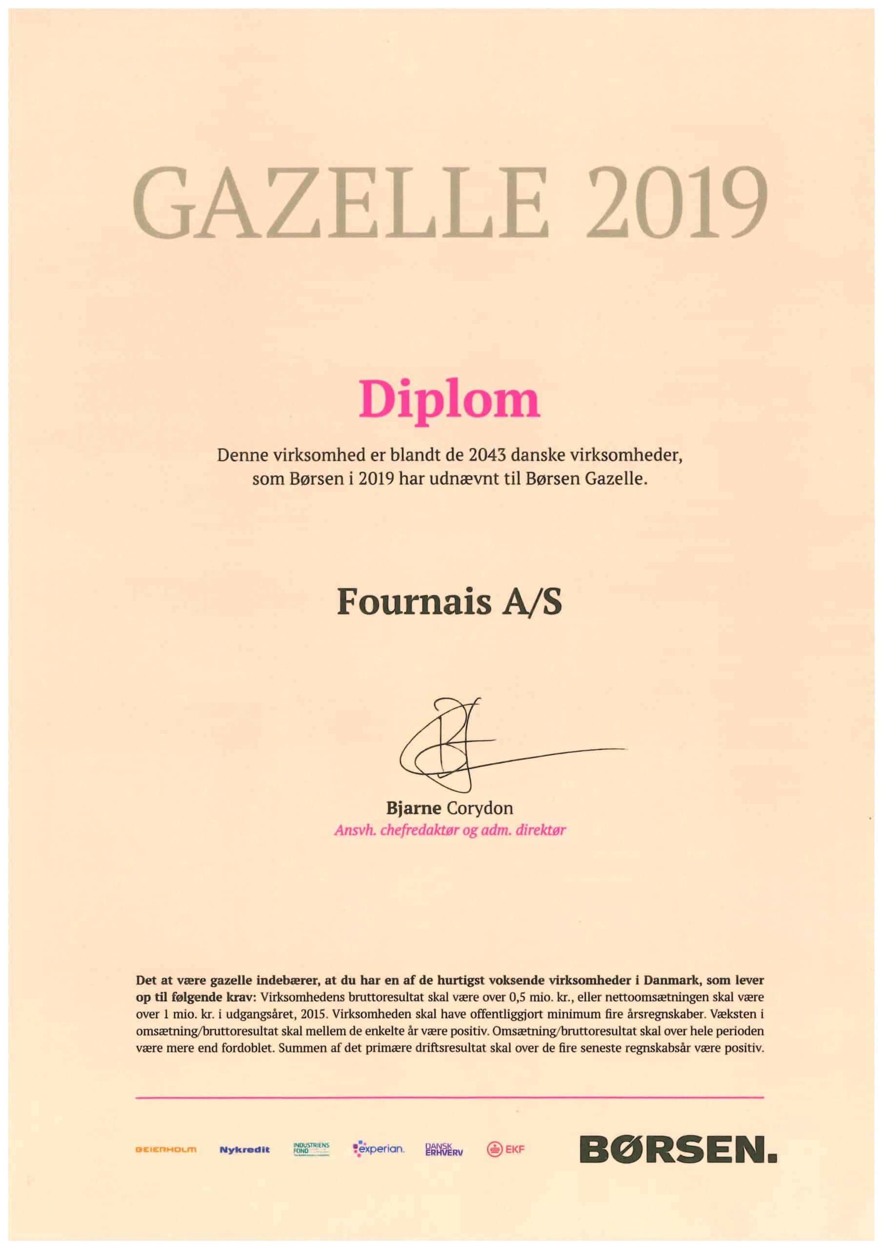Gazelle 2019