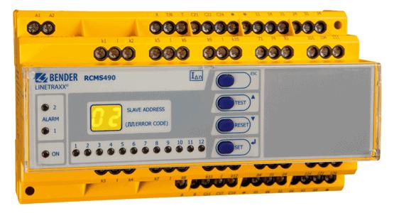 LINETRAXX® RCMS490 fra Bender