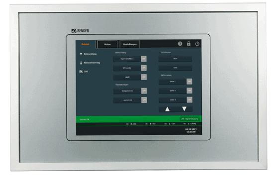 TCP touch kontrolpanel
