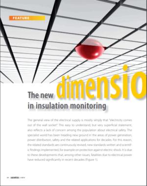 Den nye dimension i isolationsovervågning